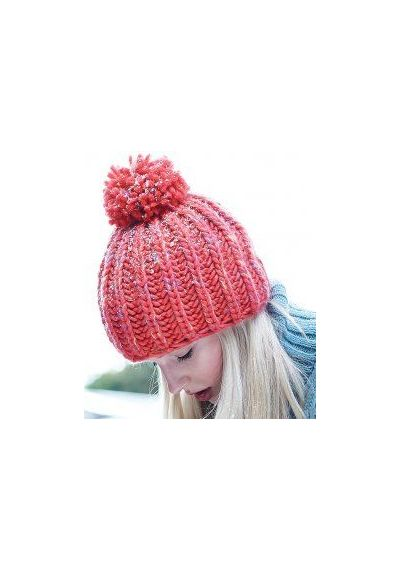 65bc9f3e35a Beechfield Aurora Pom Pom Beanie - myworkwear.co.uk