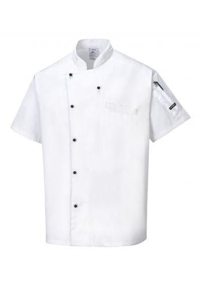 Portwest Cardiff Chefs Jacket C731
