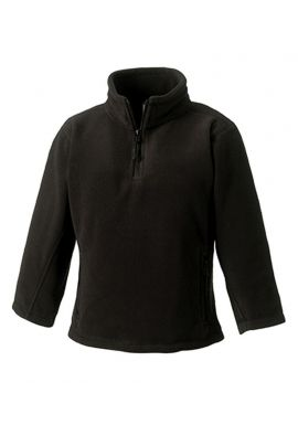 Jerzees Schoolgear Kids Zip Neck Outdoor Fleece