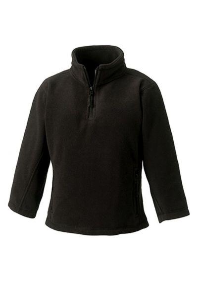 Jerzees Schoolgear Kids Zip Neck Outdoor Fleece