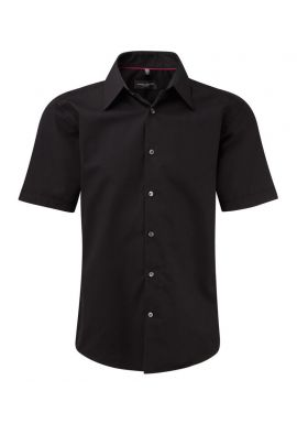 Russell Collection Short Sleeve Tencelu00ae Fitted Shirt