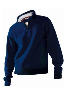 Kariban Vintage Zip Neck Sweatshirt