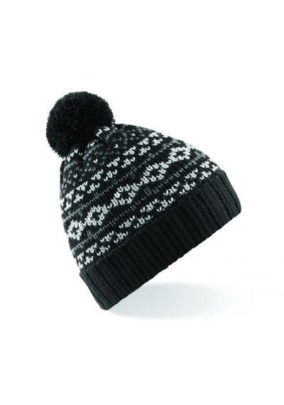 Beechfield Nordic Snowstar Beanie