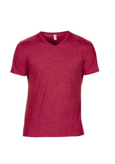 Anvil Tri-Blend V Neck T-Shirt
