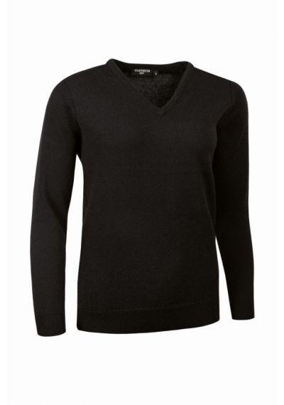 Glenmuir Ladies V Neck Lambswool Sweater