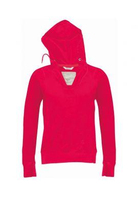 Kariban Vintage Ladies Hooded T-Shirt