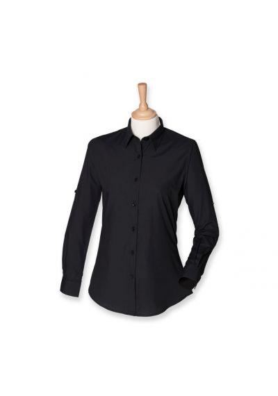 SF Ladies Roll Sleeve Shirt