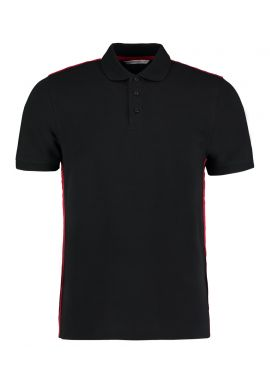 Kustom Kit Team Style Slim Fit Pique Polo Shirt
