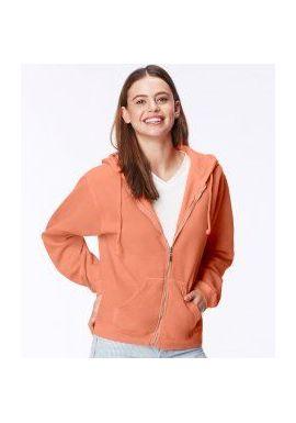 Comfort Colors Ladies Zip Hooded Sweatshirt