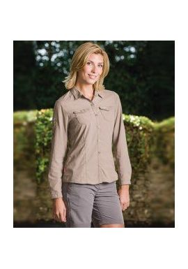 Craghoppers Ladies NosiLife Adventure Long Sleeve Shirt