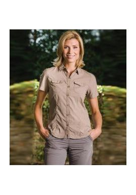 Craghoppers Ladies NosiLife Adventure Short Sleeve Shirt