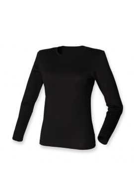 SF Ladies Modern Stretch Long Sleeve T-Shirt