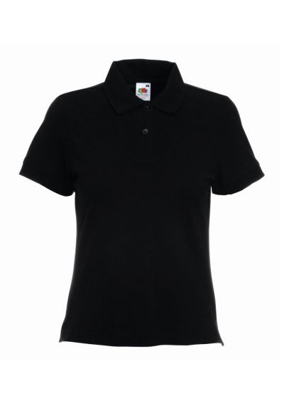 Fruit of the Loom Lady Fit Cotton Pique Polo Shirt