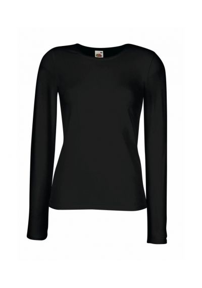 Fruit of the Loom Lady Fit Long Sleeve T-Shirt