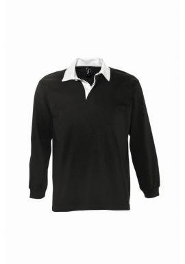 SOL'S Pack Long Sleeve Rugby Shirt