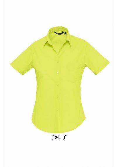 SOL'S Ladies Escape Short Sleeve Poplin Shirt