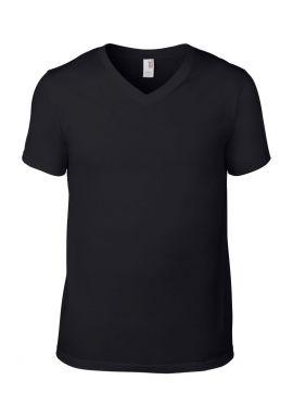 Anvil Fashion Basic V Neck T-Shirt