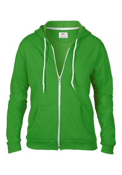 Anvil Ladies Fashion Full Zip Hooded Sweatshirt