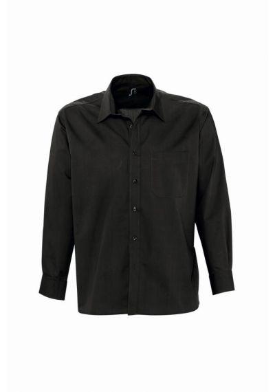 SOL'S Bradford Long Sleeve Poplin Shirt
