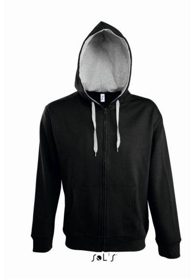 SOL'S Soul Contrast Hooded Jacket