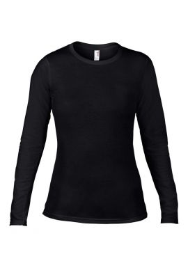 Anvil Ladies Fashion Basic Long Sleeve Fitted T-Shirt