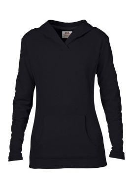 Anvil Ladies French Terry Hooded Sweatshirt