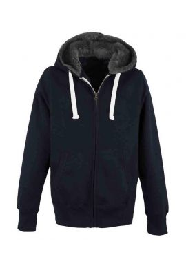 AWDis Unisex Fur Lined Chunky Zoodie