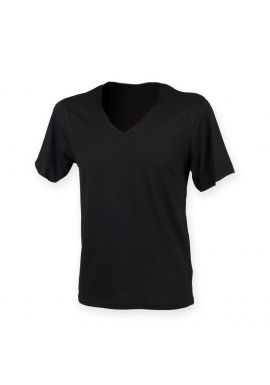 SF Men Wide V Neck T-Shirt