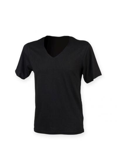 SF Men Wide V Neck T-Shirt