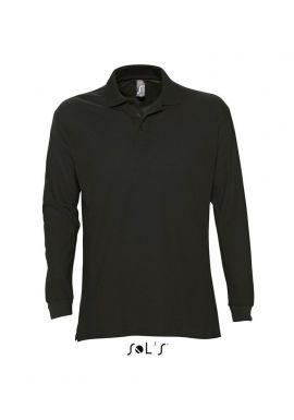 SOL'S Star Long Sleeve Cotton Piquu00e9 Polo Shirt