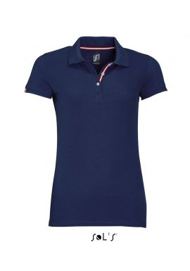 SOL'S Ladies Patriot Cotton Piquu00e9 Polo Shirt