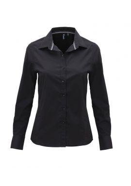 Premier Ladies Long Sleeve Fitted Friday Shirt