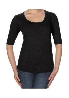Anvil Ladies Tri-Blend 1/2 Sleeve T-Shirt
