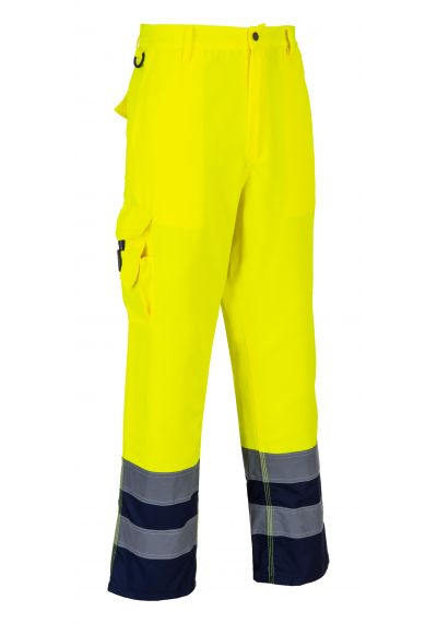 Hi-Vis Contrast Trousers E047