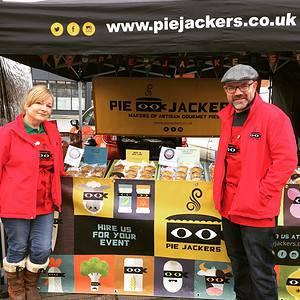 Julie & Neil, Pie Jackers